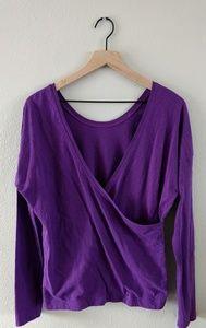 LUCY activewear criss cross back long sleeve